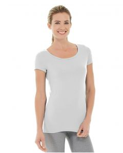 Tiffany Fitness Tee-S-White